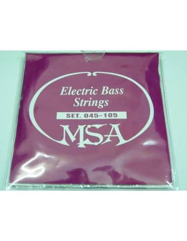 CUERDAS PARA BAJO ELECTRICO - MSA 045-105