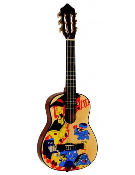 Guitarra Clasica B1 - medida 1/4 para Niños 3-6 años