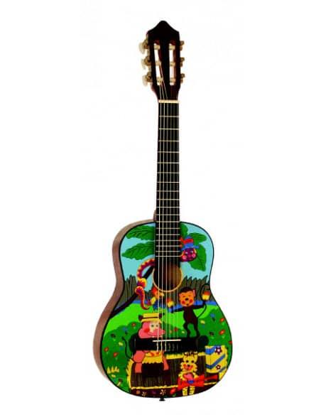 Guitarra Clasica B2  1/4 para Niños 3-6 aprox