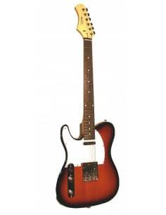 Guitarra Electrica para Zurdos TC105-LSB Vision Sunburst