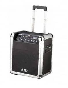 DAG TRANSAC - PA AUTOAMPLIFICADO  PORTATIL BATERIA MP3 MICRO - 50W