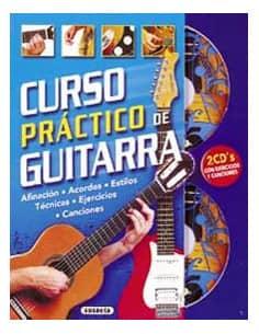CURSO PRACTICO DE GUITARRA C-GUITARRA CON 2 CD OFERTA