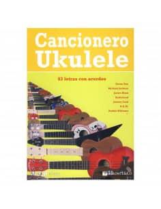 LIBRO CANCIONERO UKELELE M2843 83 LETRAS CON ACORDES