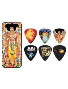 Set Puas Jimi Hendrix + Cajita Signature DUNLOP JH-PT24