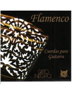 Cuerdas Flamenco Gato Negro TM - Tension Media