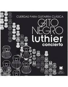 Cuerdas Concierto Luthier GATO NEGRO