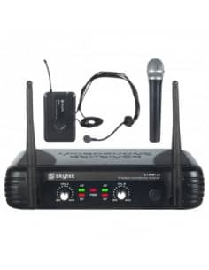 Skytec STWM722C micro UHF 2 canales combi div