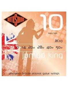 Juego Cuerdas para Guitarra Acustica Rotosound JK10