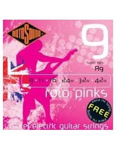 Juego Cuerdas para Guitarra Electrica Rotosound R9