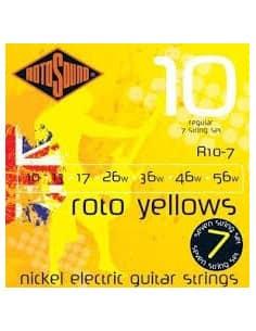 Juego 7 Cuerdas Rotosound para Guitarra Electrica R107