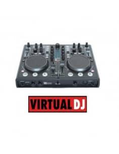 Controlador Midi tarjeta sonido integrada Virtual DJ PDC07