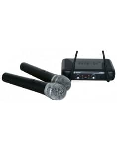 MIcrofono UHF 2 canales diversity STWM722