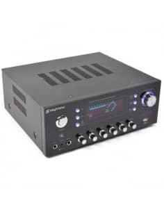 AV-120FM Amplificador estereo Karaoke MP3 - Incorpora radio