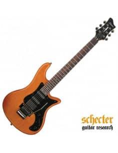 Schecter Stiletto-6 FR Amber Satin ASN