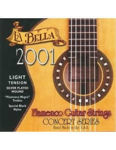 CUERDAS FLAMENCO LA BELLA 2001 TENSION LIGHT