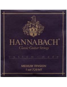 Juego Cuerdas Guitarra Clasica Profesional Hannabach 728MT
