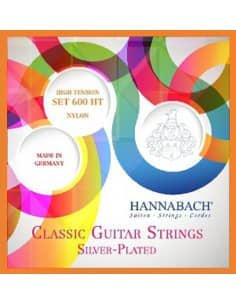 Cuerdas Guitarra Clasica Hannabach 600HT