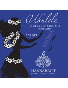 Cuerdas Ukelele Soprano - Hannabach 231MT