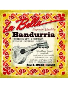 Cuerdas para Bandurria La Bella MB550