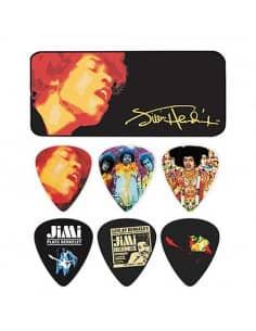 Pack puas guitarra con cajita - Jimi Hendrix
