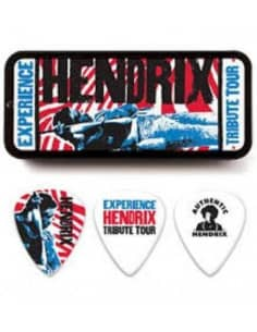 Pack puas guitarra con cajita y cierre - Jimi Hendrix
