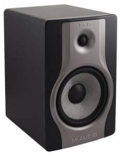 """Monitores M-Audio BX8 ESTUDIO BIAMPLIFICADO 130 W CON ALTAVOZ 8""""+ TWEETER 1.25""""(UNIDAD)"""
