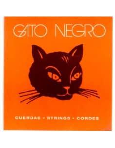 Cuerdas clasica Gato Negro nylon blanco (transparente)