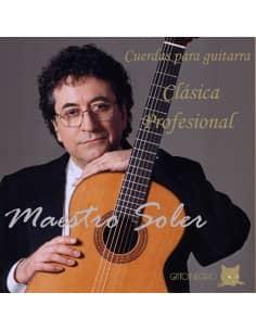 Cuerdas guitarra clasica rofesional M. Soler