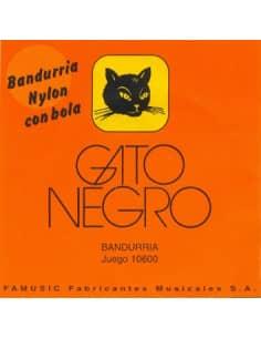 Cuerdas de bandurria gato  negro - nylon
