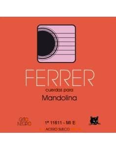 Cuerdas mandolina Ferrer acero