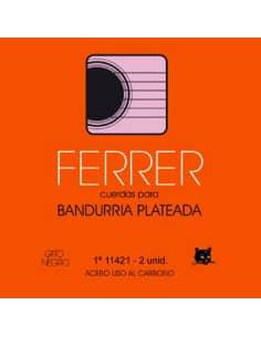 Cuerdas Bandurria Ferrer acero - juego de 12 und