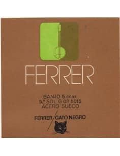 Banjo 5 cuerdas juego completo Ferrer
