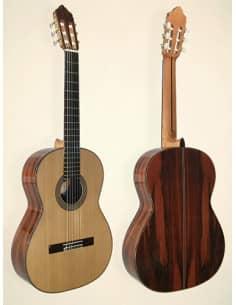 Azahar 141 palosanto guitarra artesana nivel intermedio