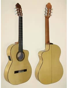 Guitarra Azahar 131 amarillo cutaway - Cipres