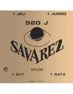 Juego de cuerdas Savarez 520J - tension extra alta