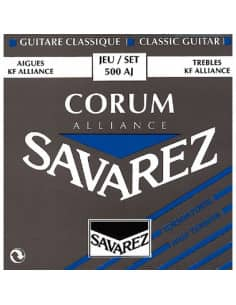 Juego completo cuerdas clasica Savarez 500AJ tension alta