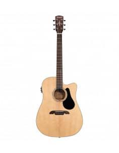 Guitarra Dreadnought electro-acústica Alvarez AD60CE2