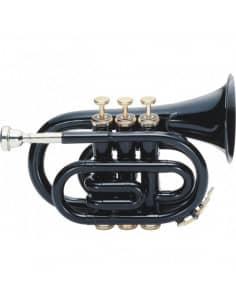Trompeta de Bolsillo J.MICHAEL TR400PCN Negra