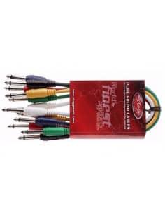 Cable conexion Midi 5 Din Plugs - 2 metros