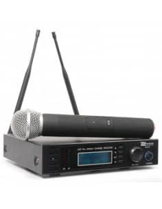 Power Dynamics PD731H 16 Canales UHF Microfono Inalambrico True Diversity con 1 Microfono