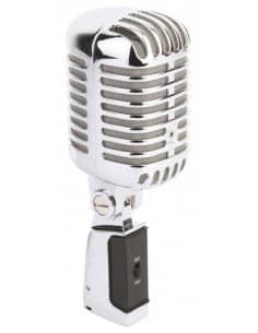 Power Dynamics PDS-M02 Microfono estilo Retro Cromado