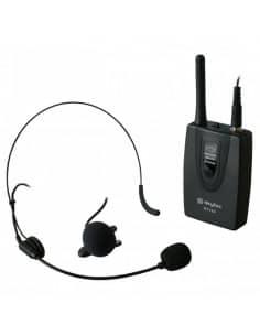 SkyTec Petaca VHF con microfono de solapa y de cabeza 200.175Mhz