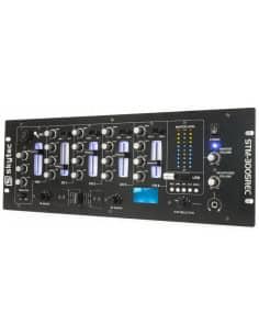 SkyTec STM-3005REC Mezclador de 4 canales EQ MP3 Grabacion