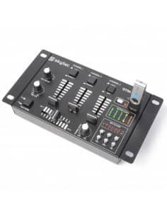 SkyTec STM-3020B Mezclador de 6 canales con USB/MP3