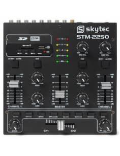 SkyTec STM-2250 Mezclador de 4 canales con Efectos USB MP3