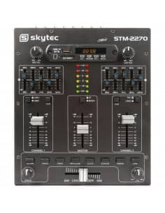 kyTec STM2270 Mezclador de 4 Canales con Efectos SD/USB/MP3/BT