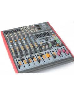 Power Dynamics PDM-S803 Mezclador Escenario 8 canales DSP/MP3- USB Entrada/Salida