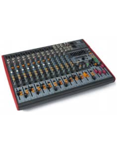 Power Dynamics PDM-S1603 Mezclador Escenario 16 canales DSP/MP3- USB Entrada/Salida