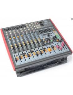 Power Dynamics PDM-S1203A Mezclador autoamplificado 12 canales DSP/MP3- USB Entrada/Salida