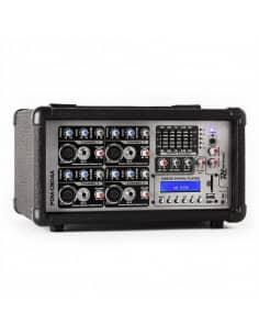 Power Dynamics PDM-C804A Mezclador Autoamplificado 4 Canales MP3/ECHO